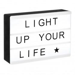 Boîte à message lumineux