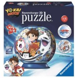 Puzzle 3D 72 pièces Yo-Kai...