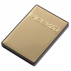 Porte-carte Meex Up or/noir...