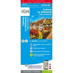 Carte IGN 3719OTR Colmar Le...