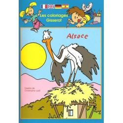 Coloriage Alsace
