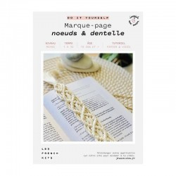 FK DIY Marque pages Noeuds...