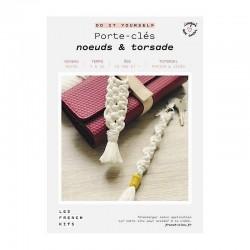 FK DIY Porte clés Noeud &...