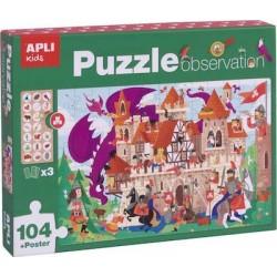 Puzzle observation Château...
