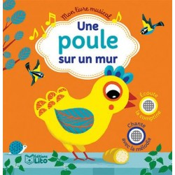Livre musical Une poule sur...